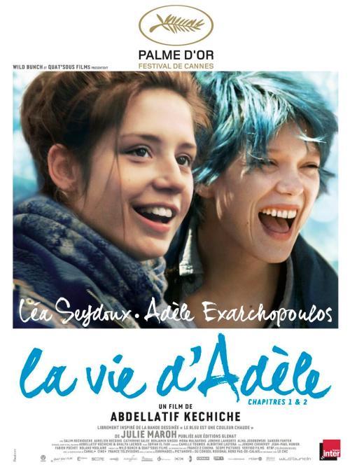 Blue is the warmest color/ La vie d'Adèle - Nỗi buồn của sự trưởng thành