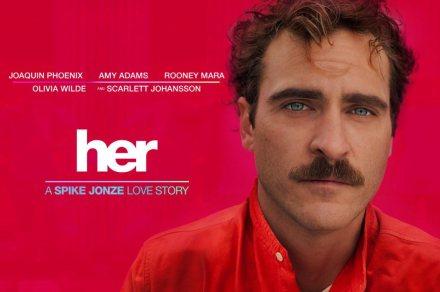 Her (2013) - Tình yêu của kẻ cô đơn trong xã hội công nghệ.